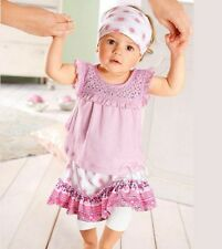 New  Cute Baby Girl 3 Piece Set Size: 0 (9-12M)