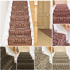 runrug Stair Runner Carpet for Stairs - Non Slip Long Wide Runners - Bloom