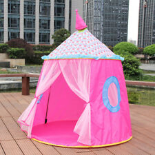 Pink Princess Castle Play House Large Indoor/Outdoor Kid Play Tent For Baby Gift