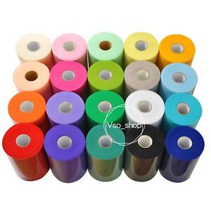 6inch x 100yards Tulle Roll Mesh Organza Fabric Ribbon Tutu Skirt Party Decor