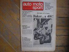 AUTO MOTO SPORT 14 1976 STEVE BAKER AGV STRATOS CROSS 125 ASPES BETA KTM APRILIA