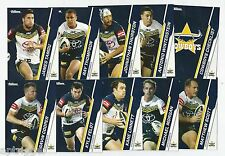 2015 NRL Traders North Queensland COWBOYS Team Set