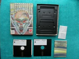 """METROPOLIS - by melbourne house - amstrad pc / IBM / tandy 5.25"""" disk"""