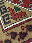 Antique Cr1900-1939's Wool Pile Natural Color Nagorno-Karabahk Area Rug 6x9ft