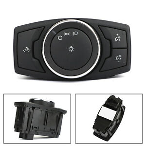 Headlight Lamp Switch Control Switch FL3T-13D061-BCW Fit for Ford F150 2015-2017