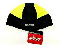 Asics Thermopolis Mens Womens Runners Utility Cap Yellow Black Beanie S/M L/XL