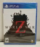 World War Z Sony Playstation 4 PS4 Game Brand New Factory Sealed Zombies F.Ship