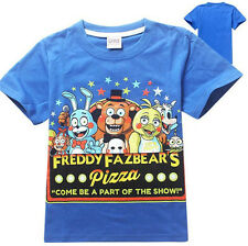 Five Nights At Freddy's Part Of The Show Kid's Pure Cotton Short Sleeve Shirt