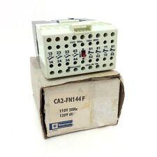 Contactor/ control relay CA2-FN-114-F Telemecanique 4NO/4NC 110/120VAC CA2FN114F