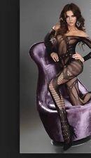 Bodystockings Sexy Combinaison ♥ Lingerie Résille Noir ♦ TU ♦