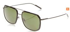 Dolce & Gabbana DG2165 Sunglasses 110671 Matte Black Frame Grey Green Lens