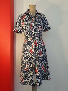 Brooks Brothers Shirt Dress 2 Belt fits AU 8