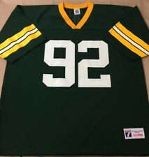 54f07fdca REGGIE WHITE  92 Green Bay Packers NFL Football Logo 7 Jersey XL Extra Large