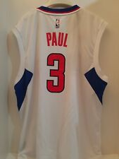 Chris Paul LOS ANGELES CLIPPERS ADIDAS NBA JERSEY ADULT LARGE