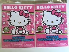 HELLO KITTY TEMPORARY TATTOO BOOK OVER 100 TATTOOS PARTY ACCESSORY NEW