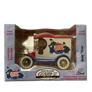Gearbox 1912 Ford Deliver Car Pepsi Cola and Keystone Cops Coin Bank 1:24 NOS