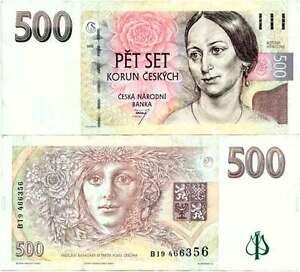 Tschechien, 500 korun 2009, vgl. Pick 14, ksfr.