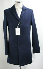 Men's Harry Brown Coat in Navy Blue (S).. Sample 5742