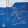 Free Motion Template Set Quilting Template Set - 6 Pieces