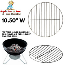 Charcoal Grate Replacement For Weber Grills Outdoor Plated Steel Cooking Grate