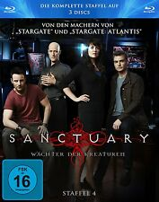 SANCTUARY : COMPLETE SEASON 4  - Blu Ray - Sealed Region B