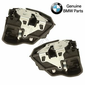 For BMW Mini Pair Set Rear Left & Right Door Lock Actuator Mechanism Genuine