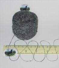 25g ball Grey Tweed 1 ply Viscose & Silk Lace knitting wool yarn Single spun