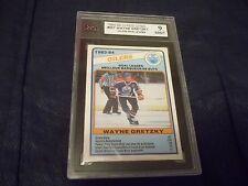 1984-85 OPC O-Pee-Chee #357 Wayne Gretzky TL Oilers  KSA 9 MINT