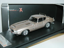 Premium X PR0243, Jaguar E-Type Coupe, Karosserie LOEWY, 1966, champagne, 1/43