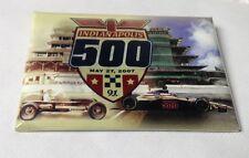 Indianapolis 500 Button/Pin, 2007, Dario Franchitti