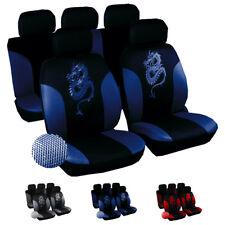 Universal Autoschonbezüge Sitzbezüge Sitzbezug  Schonbezug Drache Blau 7212