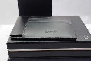Montblanc leather goods Meisterstück pocket 4 CC with ID card holder