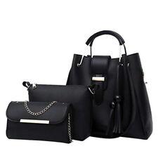 3PCS/set Women Zip Handbag Shoulder Bags Tote Purse Satchel Messenger Bag New