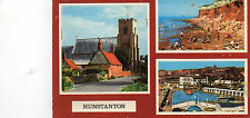 postcard Norfolk Hunstanton multi view  posted Sapphire