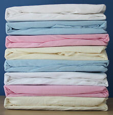 Dudu N Girlie Supersoft Thick 100% Cotton, Moses Basket Jersey Fitted Sheet,New