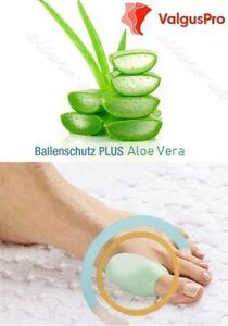 Ballenschutz mit aloe vera 2 stück hallux valgus pflege protektor toe schiene