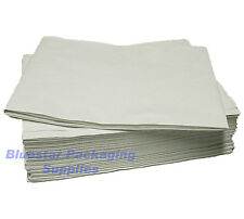 50 x White Disposable Paper Table Cloth Cover 90x90cm
