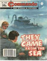 1990  No 2430 89423 Commando Comic  THEY CAME FROM THE SEA