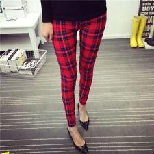 Ankle Length Cotton/Polyester Leggings for Women