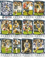 2011 TeamCoach Geelong Cats team set and Checklist Team Coach
