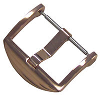 18mm Panatime Rose Gold Tone ARD Watch Buckle - Spring Bar Attachment