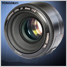 Yongnuo EF 50mm F/1.8 Auto Focus AF MF Prime Standard Lens for Canon EOS Camera