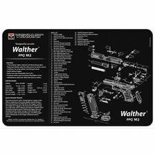 "TekMat Gun Cleaning Mat For Walther Ppq Mod2 - 11""x17"", Black"