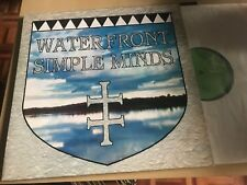 """SIMPLE MINDS - WATERFRONT 12"""" MAXI GERMANY VIRGIN 83 - SYNTH POP"""