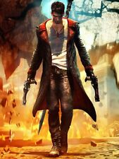 POSTER DEVIL MAY CRY 2 3 4 5 DANTE DMC PS3 XBOX 360 VERGIL DANTE'S AWAKENING #3