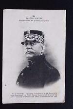 Carte postale ancienne CPA Portrait du Général JOFFRE