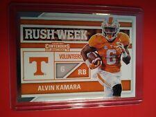 2017 Panini Contenders Alvin Kamara Tennessee Volunteers Rush Week card #4 MINT