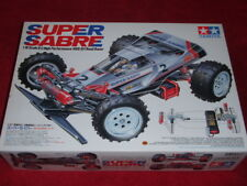 1/10 Tamiya Super Sabre Radio Controlled 4WD Off-road Racer Hotshot #58066 <New>