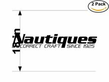 Nautiques 2 Stickers 18 inches Sticker Decal