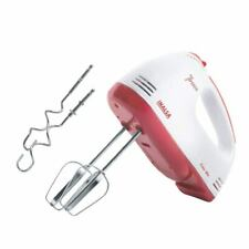 Inalsa Hand Mixer Easy Mix-200W with 7 Speed Control Detachable Stainless-Steep